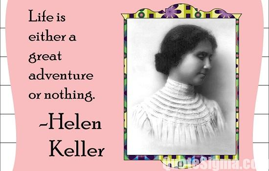 45 famous quotes by helen keller helen keller quotes altavistaventures Image collections