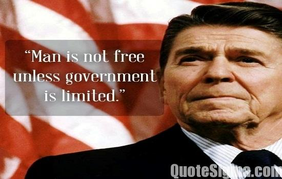 40 Memorable Quotes by Ronald Reagan