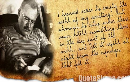 the life of ernest hemingway essay