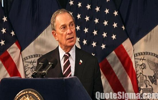 Michael Bloomberg Quotes