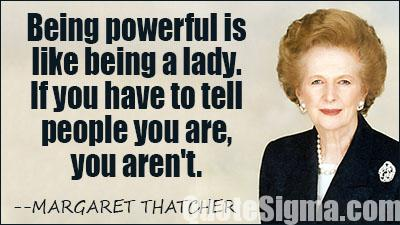 30 best Margaret Thatcher quotes