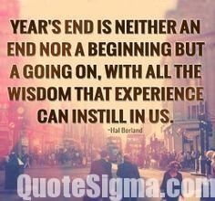 Inspiring year ending quotes