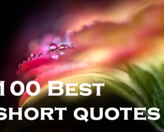 100 best short quotes
