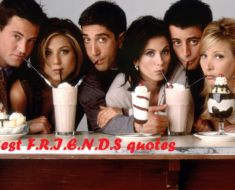 50 Best F.R.I.E.N.D.S quotes