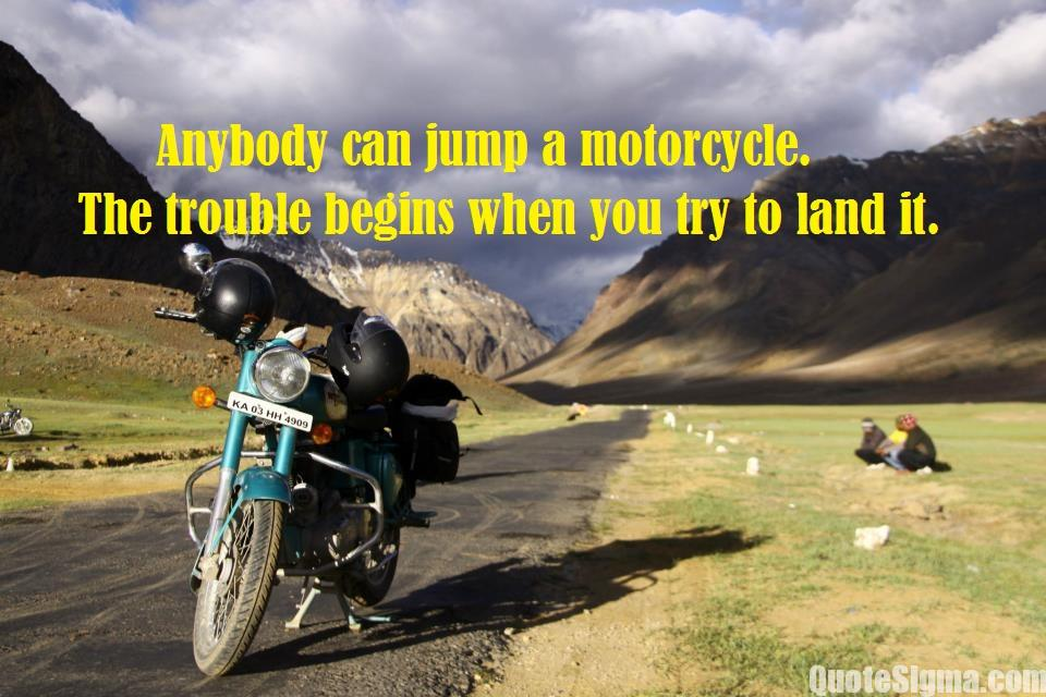quotes on bike road trips