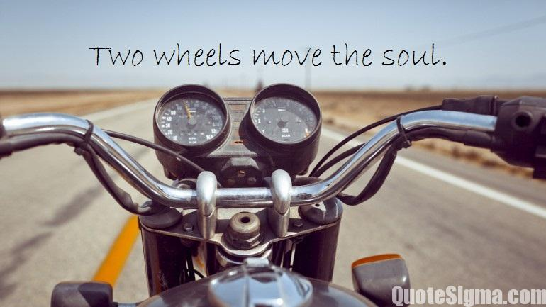 quotes about bike road trips