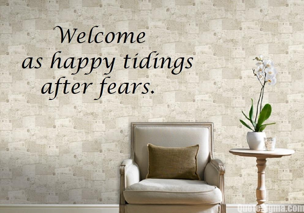 welcome quotes wallpaper