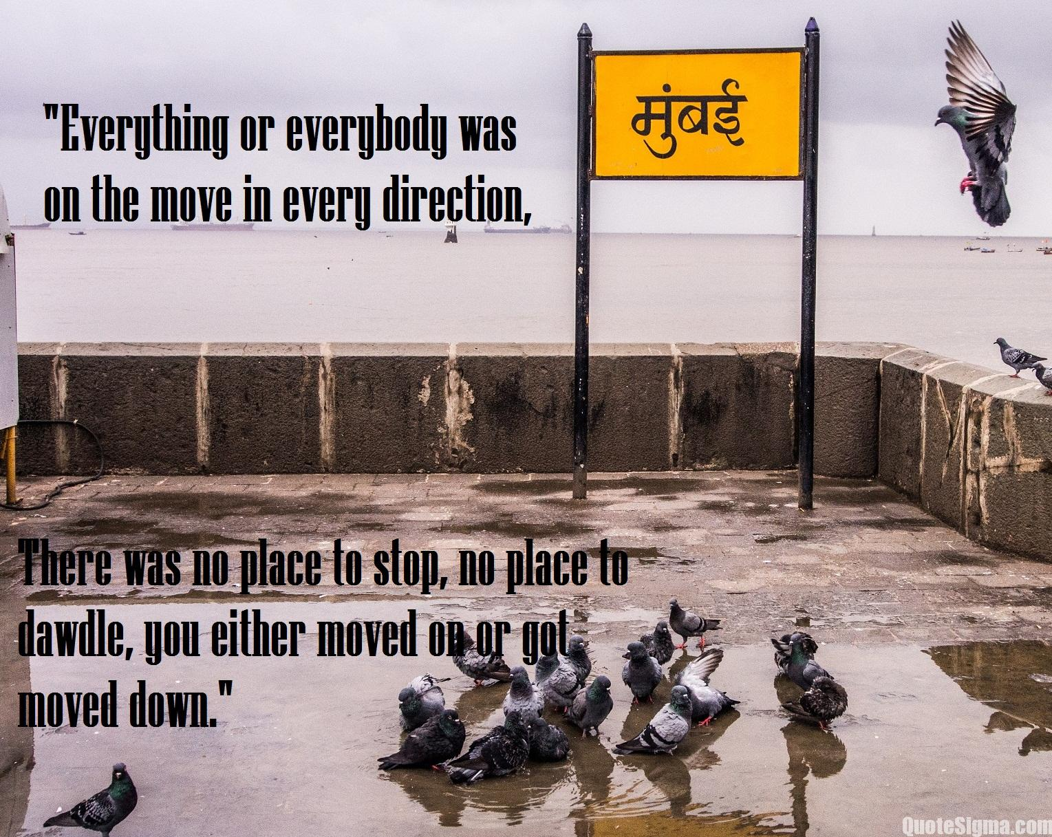 quotes about mumbai